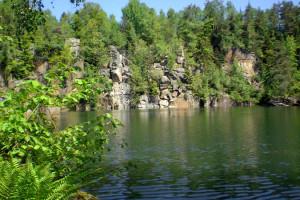 Der Büchlberger Steinbruch im Bergholz – heute ein Naturdenkmal
